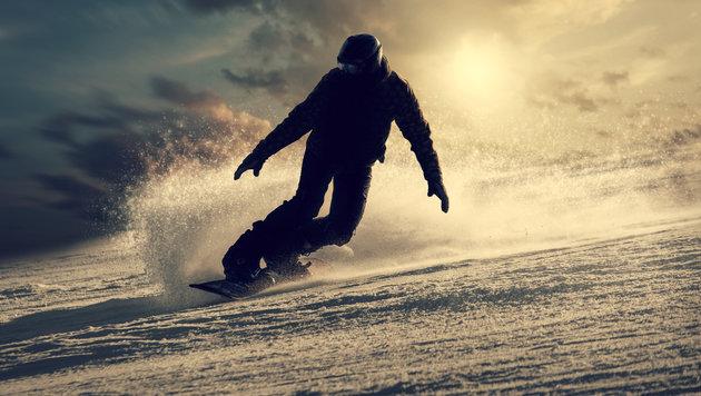 Snowboarder (42) nach Sturz querschnittgelähmt (Bild: thinkstockphotos.de)