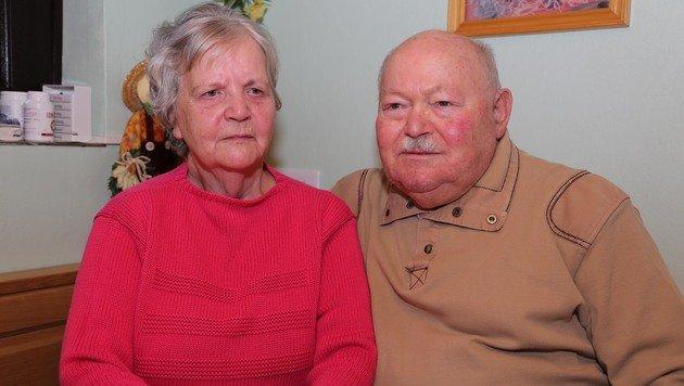 Siegfried Ullrich mit seiner Frau Herta (Bild: Helmut Horvath)