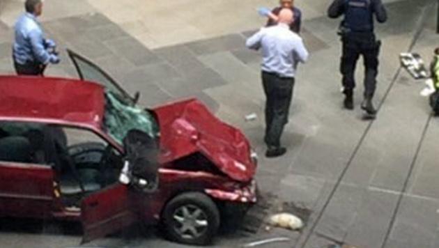 Australien: Mehrfachmord mit Auto in Fußgängerzone (Bild: Twitter.com)