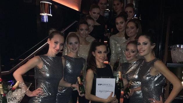 """""""Wiener VIP-Service in Kitz: Glamour, Glanz & Party (Bild: Monika Milde)"""""""