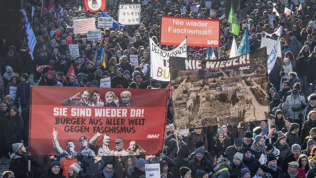 Europas Rechte erhofft sich von Trump Rückenwind (Bild: AP)
