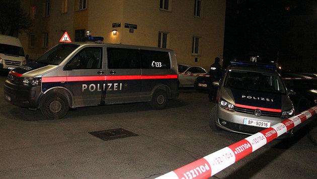 Der 17-Jährige konnte in der Rotenhofgasse in Favoriten festgenommen werden. (Bild: Andi Schiel)