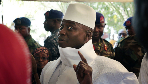Yahya Jammeh (Bild: ASSOCIATED PRESS)