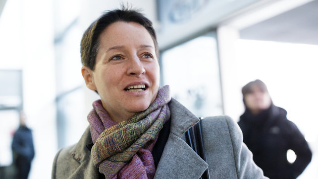 Die scheidende Gesundheitsstadträtin Sonja Wehsely (Bild: APA/GEORG HOCHMUTH)