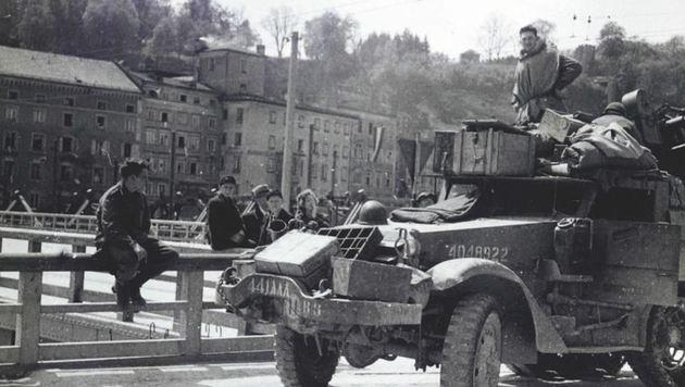 Mit der amerikanischen Besatzungsmacht kamen die Geheimagenten nach dem Krieg nach Salzburg. (Bild: National Archives Washington)