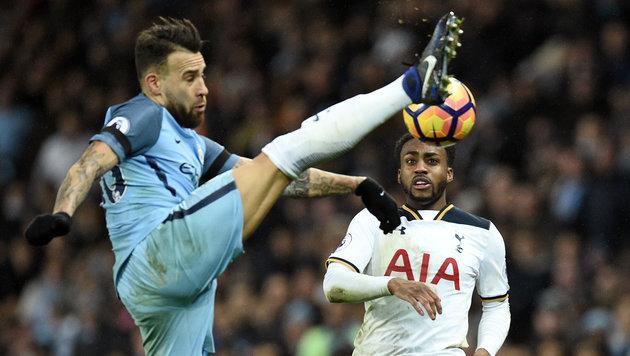 Manchester City vergeigt 2:0-Führung gegen Spurs (Bild: AFP)