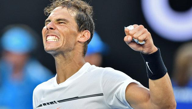 """""""Oldie"""" Nadal ringt Zverev im fünften Satz nieder (Bild: AFP or licensors)"""