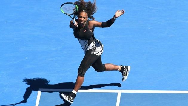Rekordchamp Serena Williams siegt eindrucksvoll (Bild: AFP or licensors)