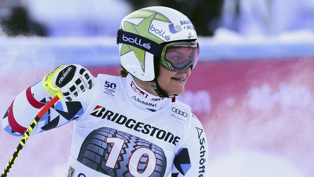 Ramona Siebenhofer war nicht zu 100 Prozent happy (Bild: AP)