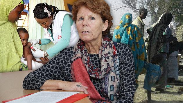Was geht uns Nigeria an, Frau Maleh? (Bild: Ärzte ohne Grenzen, AP, Peter Tomschi)