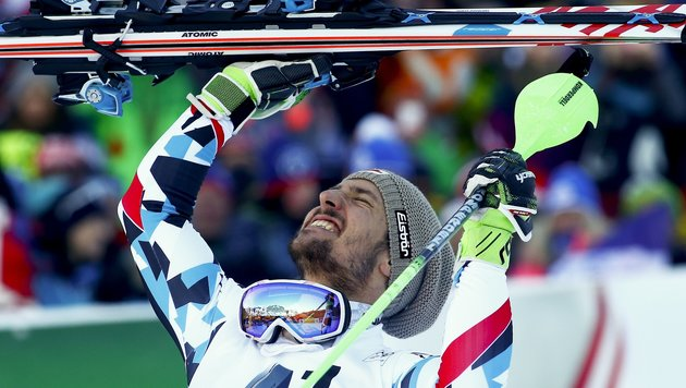 "Hirscher: ""Gewaltig! Das war komplettes Maximum!"" (Bild: Copyright 2017 The Associated Press. All rights reserved.)"
