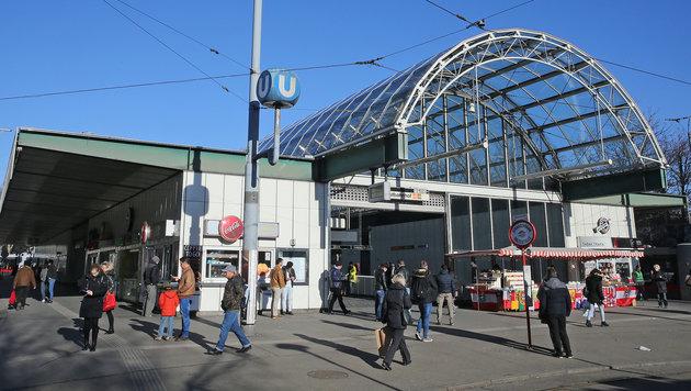 Angebliches Bomben-Terrorziel: Die U-Bahn am Westbahnhof (Bild: Peter Tomschi)