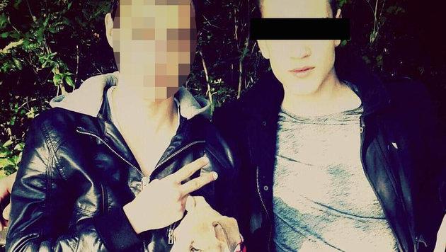 "Der 17-jährige Terrorverdächtige (rechts) (Bild: ""Krone"")"