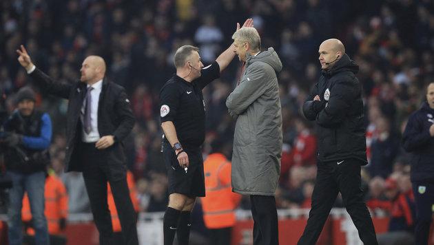 Vier Spiele Sperre für Arsenal-Coach Wenger (Bild: PA)