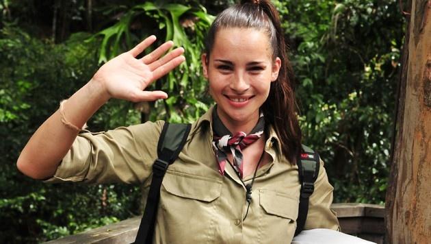 Nicole Mieth musste am Sonntag das Dschungelcamp verlassen. (Bild: RTL)