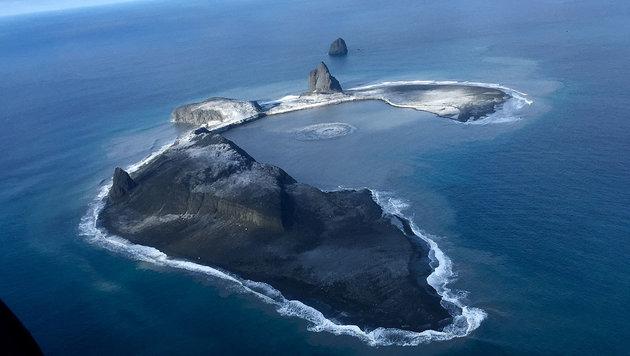 Satellit fotografiert Vulkanasche in Beringsee (Bild: Dan Leary)