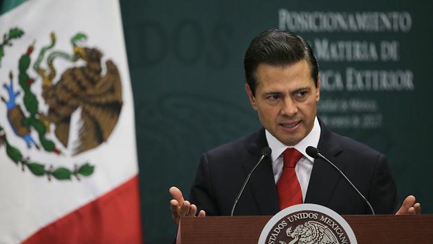 Mexikos Präsident Enrique Pena Nieto (Bild: The Associated Press)