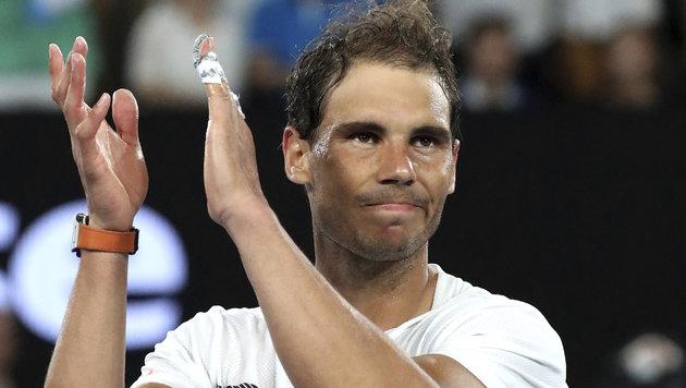 Rafael Nadal und Serena Williams noch im Rennen (Bild: AP)