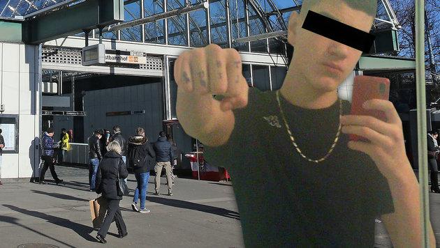 """U-Haft über Terror-Teenager (17) verhängt (Bild: """"Krone"""", Peter Tomschi)"""