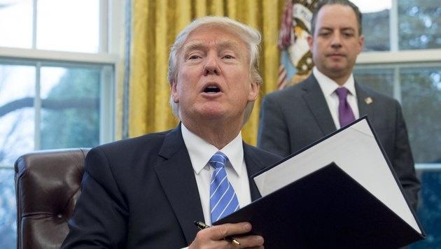 USA steigt aus TTP-Abkommen mit Pazifikstaaten aus (Bild: AFP)