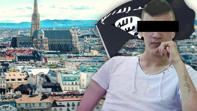 Terror-Teenager (17) sitzt in Jugendhaft-Zelle (Bild: thinkstockphotos.de, krone.at-Grafik)