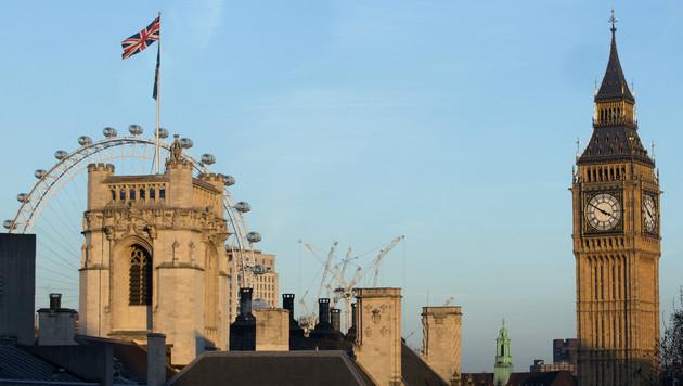 Großbritannien belegt im Ranking den 78. Platz. (Bild: AFP)