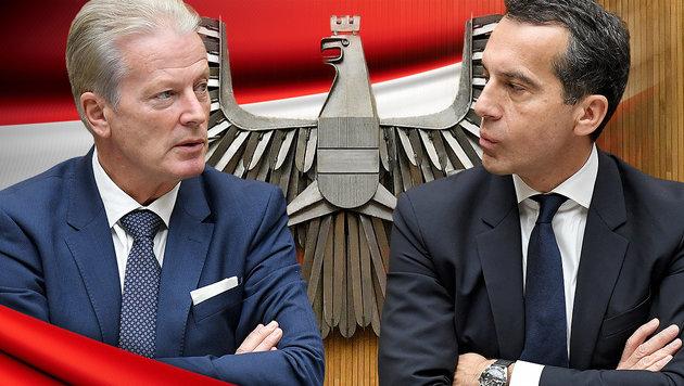 Gereizte Stimmung in der Regierung (Bild: APA/ROLAND SCHLAGER, thinkstockphotos.de)
