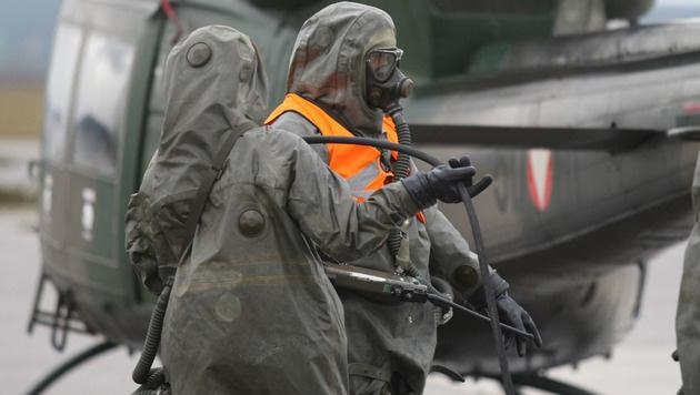 Die ABC-Abwehr des Bundesheeres (Bild: Bundesheer/Amir BEGANOVIC)
