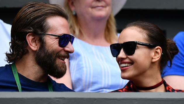 Bradley Cooper und Irina Shayk (Bild: AFP)