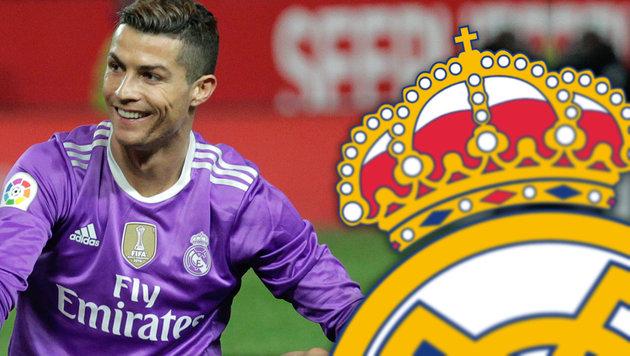 Real Madrid entfernt Kreuz aus Vereinslogo (Bild: AP)