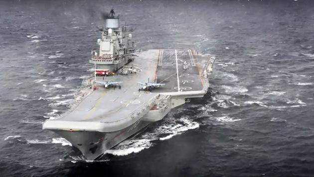 """""""Schiff der Schande"""" auf Rückweg nach Russland (Bild: AP)"""