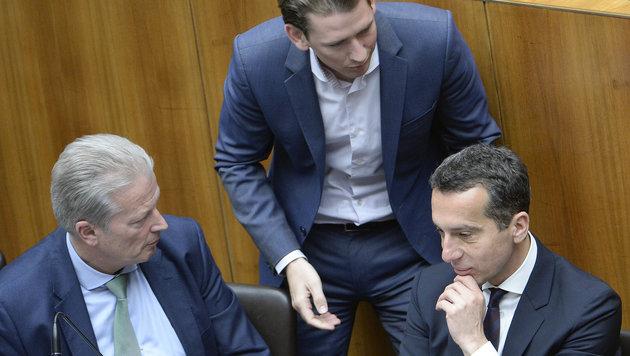 Letzte Rettungsversuche für die Große Koalition (Bild: APA/Robert Jäger)