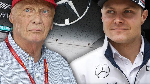 Lob für Bottas! Lauda trauert Rosberg nicht nach (Bild: GEPA, AP)
