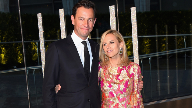 Pierre-Yves Roussel und Tory Burch (Bild: Larry Busacca/Getty Images/AFP)