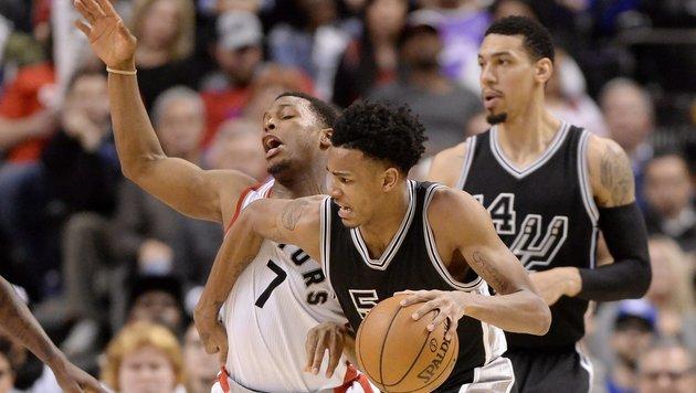 NBA: Toronto verliert zum vierten Mal in Serie (Bild: AP)