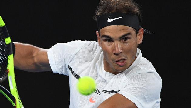 Nadal wirft Nummer drei aus dem Turnier! (Bild: AFP or licensors)