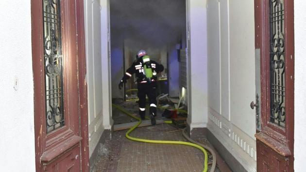 Wien: Mieter verursacht gewaltige Gasexplosion (Bild: APA/MA 68 LICHTBILDSTELLE)