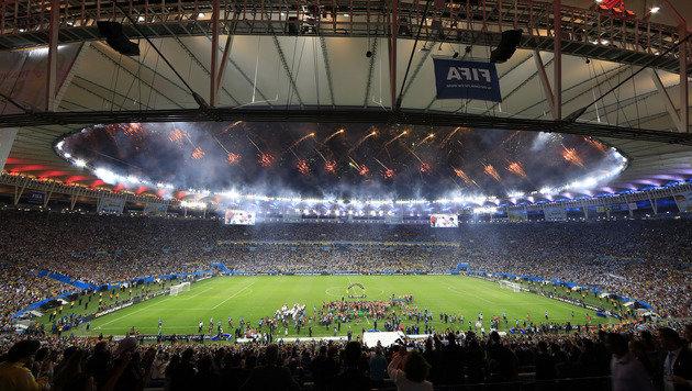 Marodes Maracana-Stadion soll verkauft werden (Bild: AP)
