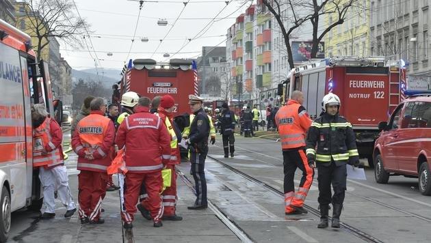 Gasexplosion: Nachbarn glauben an tödlichen Plan (Bild: APA/HANS PUNZ)