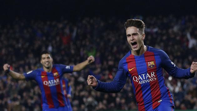 5:2! FC Barcelona spaziert ins Cup-Halbfinale (Bild: AP)