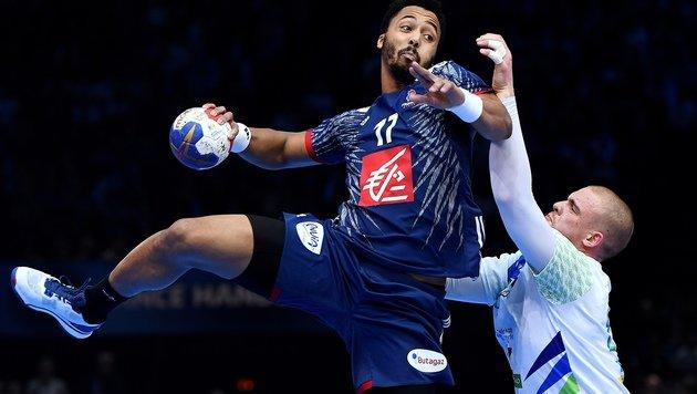 Franzosen nach 31:25 gegen Slowenen im Finale (Bild: AFP)
