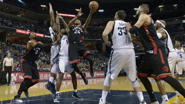 NBA: Toronto verliert erneut, Pöltl ohne Spielzeit (Bild: AP)