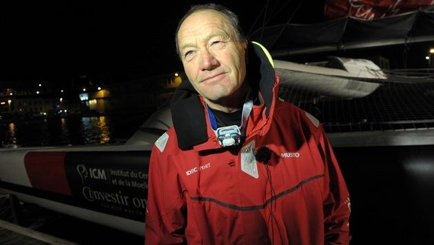 Rekord! Franzose segelte in 40 Tagen um die Welt (Bild: AFP)