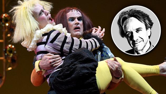 Wilder Shakespeare im Burgtheater (Bild: APA/ROLAND SCHLAGER)