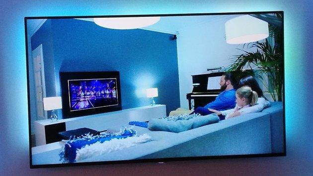 Philips-TVs schnüffeln Nutzer für Reklame aus (Bild: Dominik Erlinger)