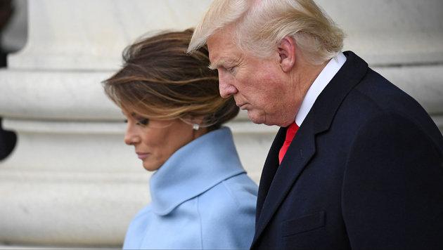 Melania und Donald Trump bei der Inauguration (Bild: AdMedia/face to face)