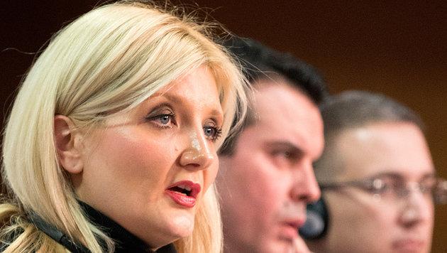 Sloweniens Innenministerin Vesna Györkös-Znidar (Bild: AFP)