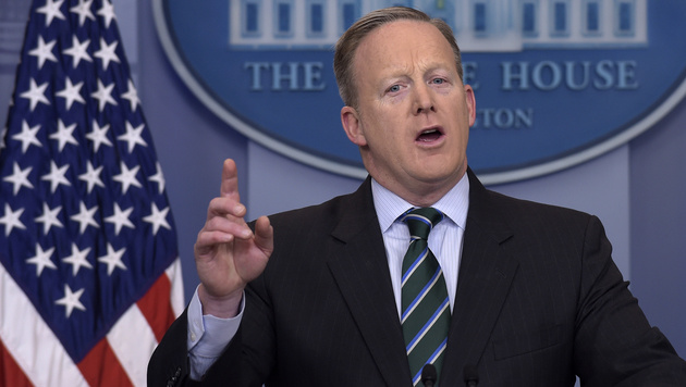 Sean Spicer (Bild: The Associated Press)