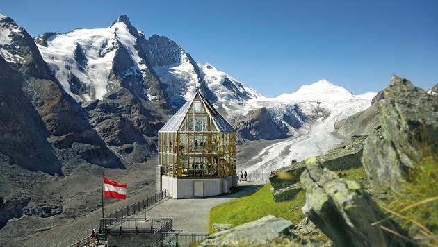 Blick auf den 3798 Meter hohen Großglockner, dem größten Berg Österreichs (Bild: C. Wöckinger)