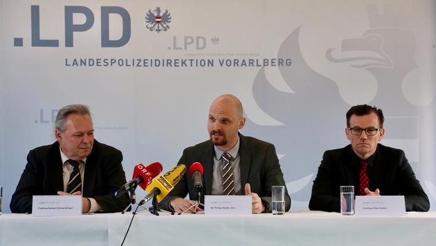 Der Landespolizeidirektion Vorarlberg gelang ein schwerer Schlag gegen das organisierte Verbrechen. (Bild: Harald Küng)